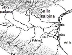 BOII PANNONIA -> Historische Darstellung Map, World, Iron Age, Northern Italy, Passau, Location Map, Maps, The World