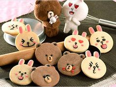 brown and cony cookie