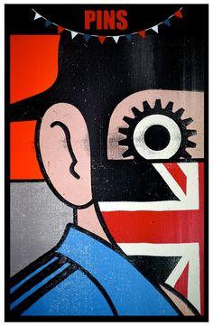PAUL INSECT - Clockwork Britain  Upgrade on original Clockwork Orange book illustration.