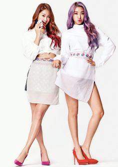 SIstar Bora and Soyu - Ceci Magazine