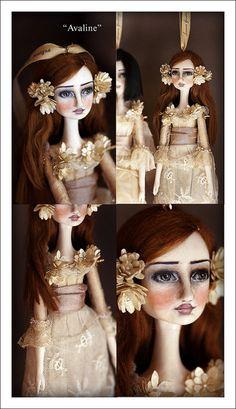 Avaline Art Doll Ornament | Flickr - Photo Sharing!
