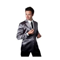 """""""Just because you're done with the day does NOT mean you have to be done being legen… wait for it… dary! That's right, folks. I'm talking about Barney Stinson's Premium Silk Suit Pajamas as worn on 'How I Met Your Mother.' They're $95, but that's a small price to pay to look your snazziest in the bedroom ;)"""" - Andy Bernard"""