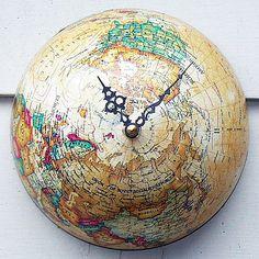 Творческая география: 25 идей перевоплощения старого глобуса - Ярмарка Мастеров - ручная работа, handmade