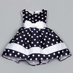 Shop for Dorissa Infant Girl's Dotty Polka Dot Dress . Get free delivery On EVERYTHING* Overstock - Your Online Children's Clothing Outlet Store! Toddler Dress, Toddler Outfits, Baby Dress, Kids Outfits, Dress Girl, Little Dresses, Little Girl Dresses, Girls Dresses, Baby Girl Fashion