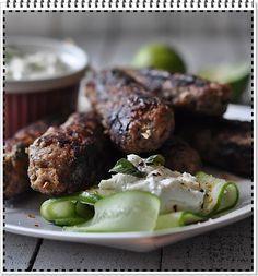 Kofty, czyli szaszłyki z grilowanego mięsa Poultry, Sprouts, Grilling, Beef, Vegetables, Cooking, Food, Meat, Kitchen