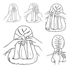 How to French braid tutorial