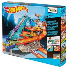 Mattel Hot Wheels MOTORISED MEGA GARAGE BGJ18