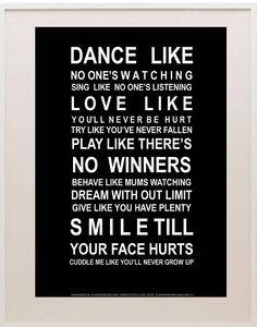 Dance Love Play Smile