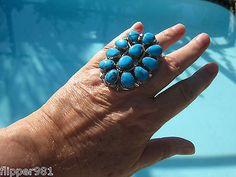 Turquoise Ring by Navajo Artist Wilson Begay Jr.