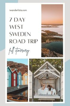 7 Day West Sweden Road Trip: The Best Itinerary Words To Use, Cool Words, Ready For First, Paradise On Earth, Top Place, Bucket List Destinations, Sweden Travel, Gothenburg, Big Star