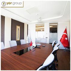 Yör Group'un 50 yıllık ticari gelenekleri bu toplantı odasında alınan kararlarla geleceğe aktarılıyor!