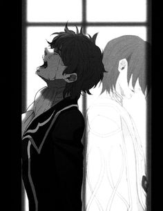 Heart wrenching sorrow. Suzaku and Lelouch