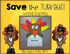 This FREE fun-filled craftivity will be perfect for your students to share their delicious alternative to turkey!This download includes all of the templates as well as 2 additional writing templates!Enjoy :)