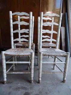 1000 images about nuevo local on pinterest mesas - Sillas antiguas de madera ...