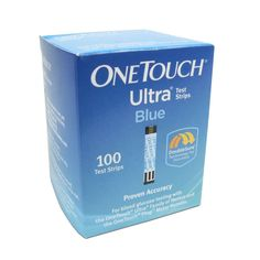 Amazon's Trusted and Best Selling Diabetic Products -- One touch Ultra 100 Count -- Quick-acting One Touch Ultra glucose test strips deliver accurate readings of whole-blood glucose levels in mere seconds. The strips are structured to automatically draw a tiny sample and indicate if enough blood has been drawn. Compatible with the One Touch Ultra meter, they are also designed to give you a choice of testing spots…