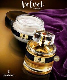 ... sucesso absoluto de vendas, ainda mais marcante e sofisticada em  lançamentos apaixonantes! Conheça a nova linha Velvet Premium que conta com  Eau de ... 094bbbd5232