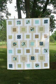 Modern Meadow quilt #quilt #quilting #longarm #machinequilting #tinlizzie18