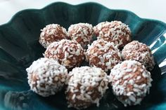 Chocolate balls with a twist!  Healthy and delicious