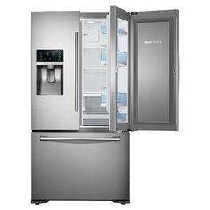 Samsung Counter Depth 3-Door Food ShowCase Refrigerator (Stainless Steel) RF23HTEDBSR | Refrigerators