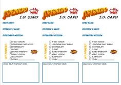Superhero Messy Church I. card (Dapto Messy Church, adapted from… Kids Church Lessons, Sunday School Lessons, Superhero Classroom Theme, Superhero Party, Hero Central Vbs, Holiday Club, Summer Reading Program, Bible Activities, Vacation Bible School