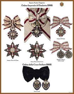 I NOSTRI AVI • Leggi argomento - Tavole ordini AUSTRIA-UNGHERIA (Nuove) Emblem, Form, Austria, Awards, Coins, Decorations, Diamond, Wedding, Badges