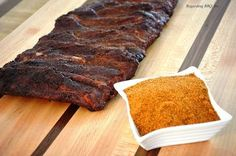 In Memphis barbecue, this rub is the most important ingredient aside from the meat. Often ribs are served with only a rub and without sauce.