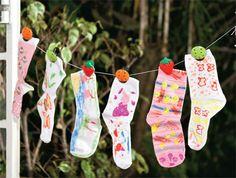 Pintura de meias