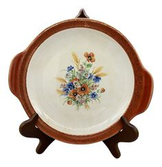 Salem China's Aristocratic Maroon Cake Plate on Chairish.com Oversized Wall Mirrors, Dessert Aux Fruits, Cereal Bowls, Cake Plates, Salad Plates, Dinner Plates, Cup And Saucer, Vintage Antiques, Dinnerware