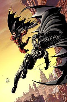 Batman and Robin(Tim Drake)