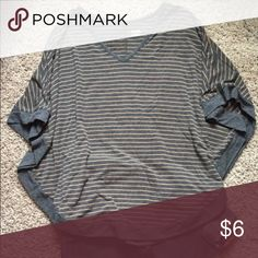 A.n.a. Poncho top A New Approach poncho style top. Flowy sleeves. Bottom his just below the waist. Great win Jeans. a.n.a Tops Tunics