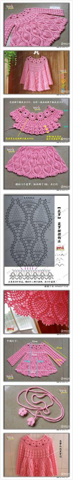 编织图解 [] #<br/> # #Knit #Dresses,<br/> # #Girl #Dresses,<br/> # #Blouses,<br/> # #Buy<br/>