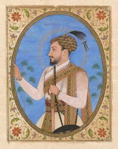 Unknown, 1685 - Miniature portrait of Sultan Muhammad Adil Shah of Bijapur - art print, fine art reproduction, wall art Rembrandt, Miniature Portraits, Miniature Paintings, Getty Museum, Indian Paintings, Mughal Paintings, Fine Art Prints, Canvas Prints, Canvas Paper