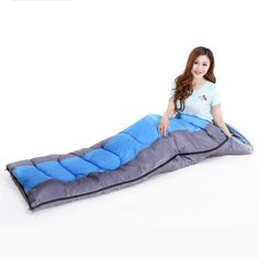 31.99$  Watch now - http://aixse.worlditems.win/all/product.php?id=32615652708 - 2016 New Outdoor Activities Warm Soft Sleeping Bag Adult Waterproof Camping Hiking High Quality