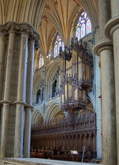 ( Ely Cathedral )  Organ by haberlea, via Flickr