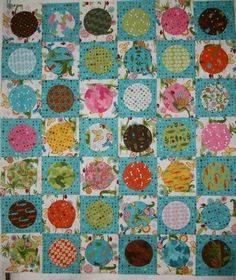 "Moda ""Meadow Friends"" Charm Pack quilt top 34 x 38 Really Cute!!!!! 