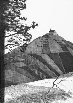 David Hockney - A Wooded Landscape