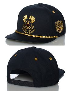0448676e29c FLAT FITTY Boat captain style snapback cap Adjustable strap on back of hat  for ultimate comfort Embr. Naomi Young