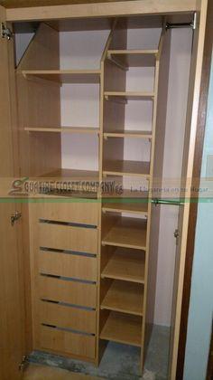 Zapatera extraible en mdf melamina closet 39 s a medida de for Closet con zapatera