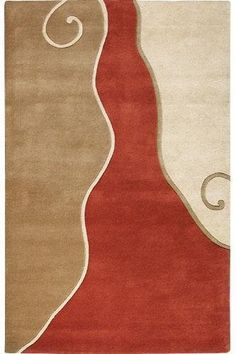 """Divani Area Rug, 9'6""""x13'6"""", TERRA BEIGE -- Click image to review more details."""
