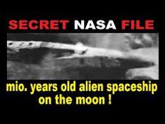 ALIEN SPACESHIP on moon