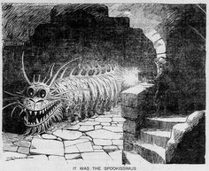 Walt McDougall - The Salt Lake herald., August 24, 1902, It Was The Spookissimus
