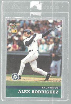 Alex Rodriguez Post Collectors Series #1 of 18 Baseball Cards 2001 Mariners…
