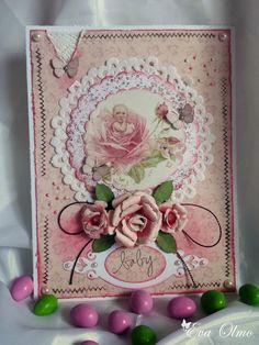 Cuquicosas Blog: Layout y tarjeta de scrapbooking, estilo Shabby