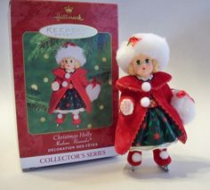 Christmas Holly-Madame Alexander #5.  Hallmark Ornament, 2000.