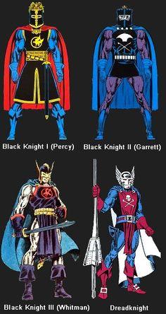 Marvel Comics Black Knight - Google Search