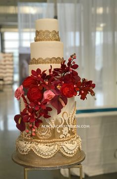 require ideas in discovering that refined dress? Then stopover this astounding image reference 7897727913 this instant. Indian Wedding Cakes, Elegant Wedding Cakes, Beautiful Wedding Cakes, Romantic Weddings, Unique Weddings, Beautiful Flowers, Wedding Unique, Wedding Ideas, Cupcakes