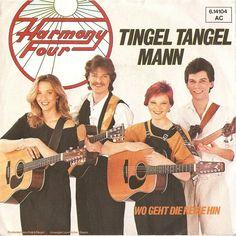 Tingel Tangel Mann - et rigtig Ralph Siegel-nummer. Sunget af Harmonie Four. Tysk Grand Prix 1984.