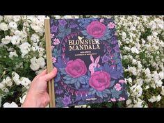 Flip Through Blomstermandala Coloring Book