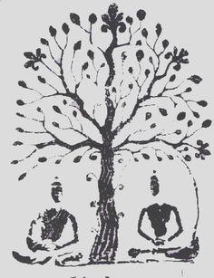 buddhas under the bodhi tree