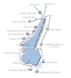 Gardaseee Wander-Karte